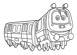chuggington coloring pages emery for kids printable free