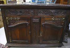 English Oak Sideboard Oak English Antique Sideboards U0026 Buffets Ebay