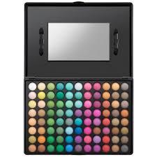 1st edition eyeshadow palette bright neon to neutral shades 120