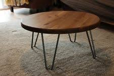 Rustic Round Coffee Table Wood Round Coffee Tables Ebay
