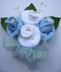 baby sock corsage baby bouquet using baby sox recipe baby sock corsage corsage
