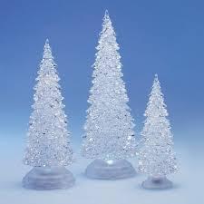 the aisle frosty shimmer 3 tree set