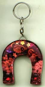 mexican horseshoes mexican horseshoe key ring charm