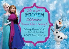 frozen theme birthday party printables