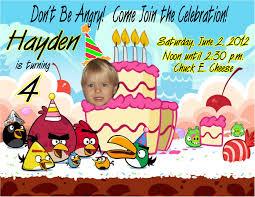 angry birds personalized photo birthday invitation 1 09