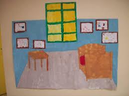 chambre gogh la chambre de gogh ms gs des arts visuels à l école maternelle