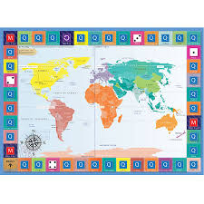 Canada Map Game by Buy Ks3 On The Map Global Locations Revision Game Tts