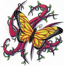 butterfly tattoos and designs page 190