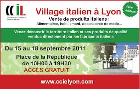 chambre commerce italienne lyon l italie en foires salons événements