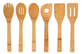 amazon com premium kitchen cooking utensils bamboo spoon spatula