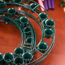 wreath supplies green wire advent wreath forms wreaths floral supplies craft