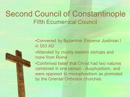 Council Of Constantinople 553 Pre Islamic Christianity To Seventh Century Ppt