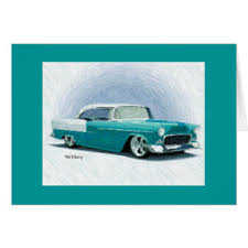 classic car cards invitations greeting photo cards zazzle