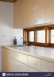 galley kitchen on the upper floor building code did not allow a