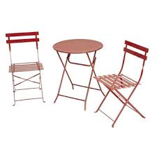 Folding Bistro Table And Chairs Set Shop Bistro Table And Chair Set On Wanelo
