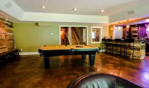 How To Stain A Concrete Basement Floor by 18 Stained Concrete Flooring Designs Ideas Design Trends