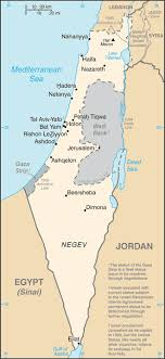 political map of israel israel maps ecoi net
