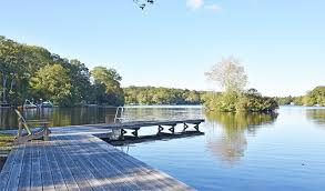 woods lists lakefront compound on rhode island s beautiful