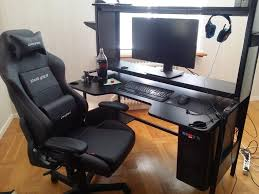 Large Gaming Desk Black Ikea Gaming Desk Large In Milton Keynes Buckinghamshire