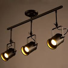 Spotlight Chandelier 64 94 More Modern Toggery American Industrial Track Led