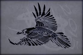 tribal tattoo design crow corvus corax v1 by amoebafire on deviantart