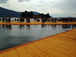 Floating Piers by The Floating Piers U2013 Christo U2013 Art Surgery