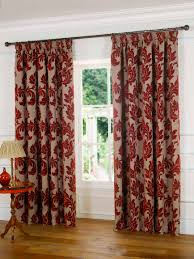 curtains ideas blue patterned curtains vintage patterned