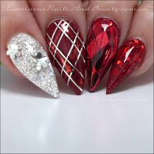 nail designs red and gold images nail art designs