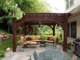 small backyard patios backyard patio design with pergola home outdoor decoration