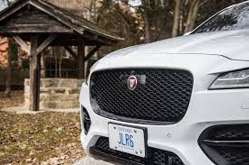 jaguar grill review 2017 jaguar f pace r sport canadian auto review
