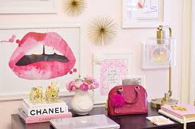 Office Decor Desk Decor Pink Room Pink Office Cute Decor Cute