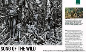 Vanity Fair Photographer Plight Of Earth U0027s Most Threatened Tribe Makes Headlines Worldwide