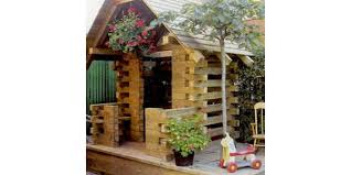 free log cabin play house plans woodwork city free woodworking plans