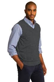 realtor mens sweater vest rcg1350