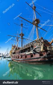 genoa italy april 29 2017 galleon stock photo 643528504 shutterstock