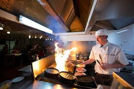 grillk che chef on the open grill picture of the bistro grill armidale