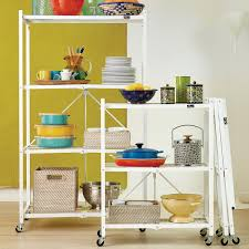 origami 3 shelf folding rack the container store
