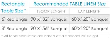 Table Linen Sizes - lily petal tablecloths u0026 overlays urquid linen