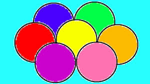 learn colours children balls colouring pages