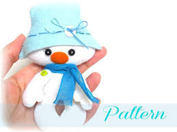 snowman ornaments patterns snowman pdf