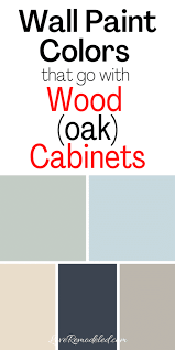 what color walls with wood cabinets wall colors for honey oak cabinets remodeled