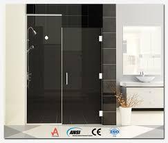 Hinged Glass Shower Door Hinged Glass Shower Doors Huahui Glass China Co Ltd