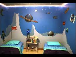 Outer space bedroom decorating ideas