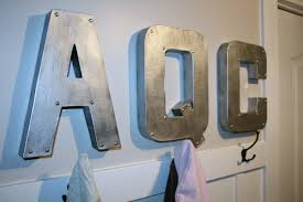 metal wall letters home decor stunning idea metal wall letters with large regarding for decor
