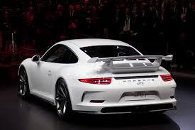 porsche gt3 white porsche 911 gt3 white rear