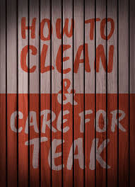 How To Remove Mold From Bathroom How To Clean And Care For Teak