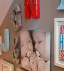 Nursery Wall Decor Letters Wall Letters Decor For Baby Home Decor And Design Ideas For