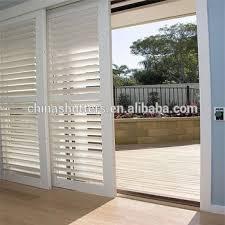 Patio Door Security Shutters 2017 Adjustable Louver Patio Door Security Shutters Buy Patio