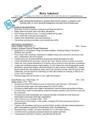 Financial Management Specialist Resume Customer Service Manager Resume Sample Resume For Your Job
