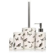 george home butterfly bath accessories range bathroom